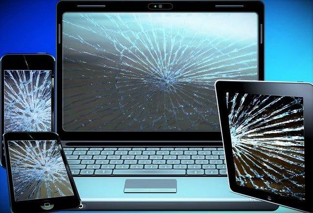 computerskærm reparation